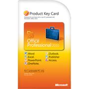Microsoft Office 2010 Professional Key Card1