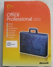 Microsoft Office 2010 Professional Box DVD1