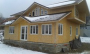 Строительство деревянно-каркасных домов,  гостиниц,  мотелей
